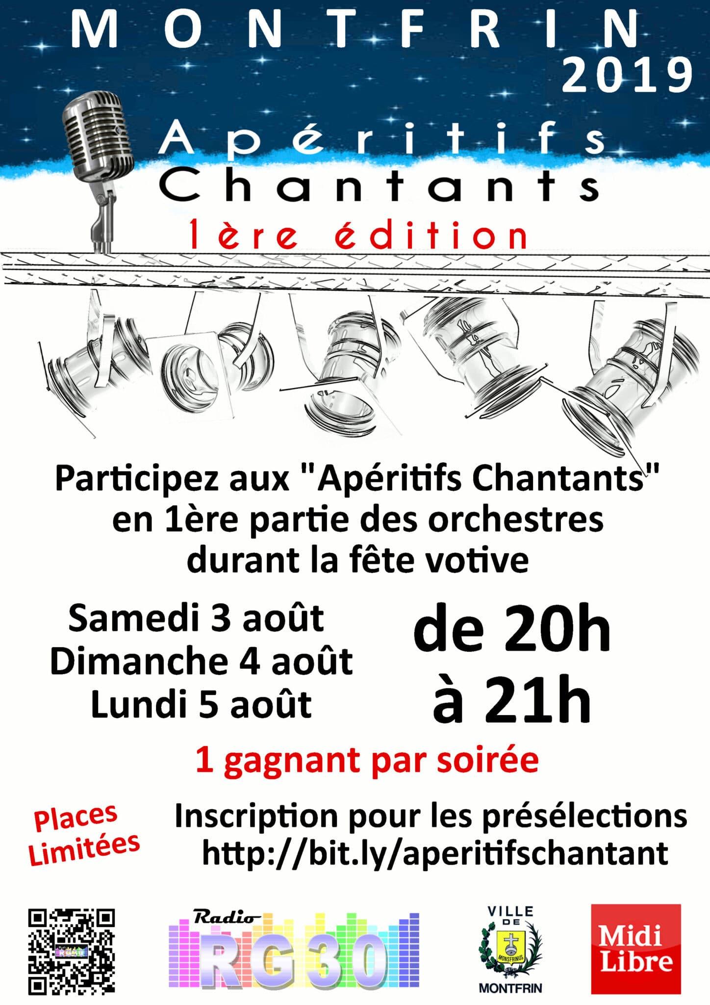 Les Apéritifs Chantants Montfrin 2019