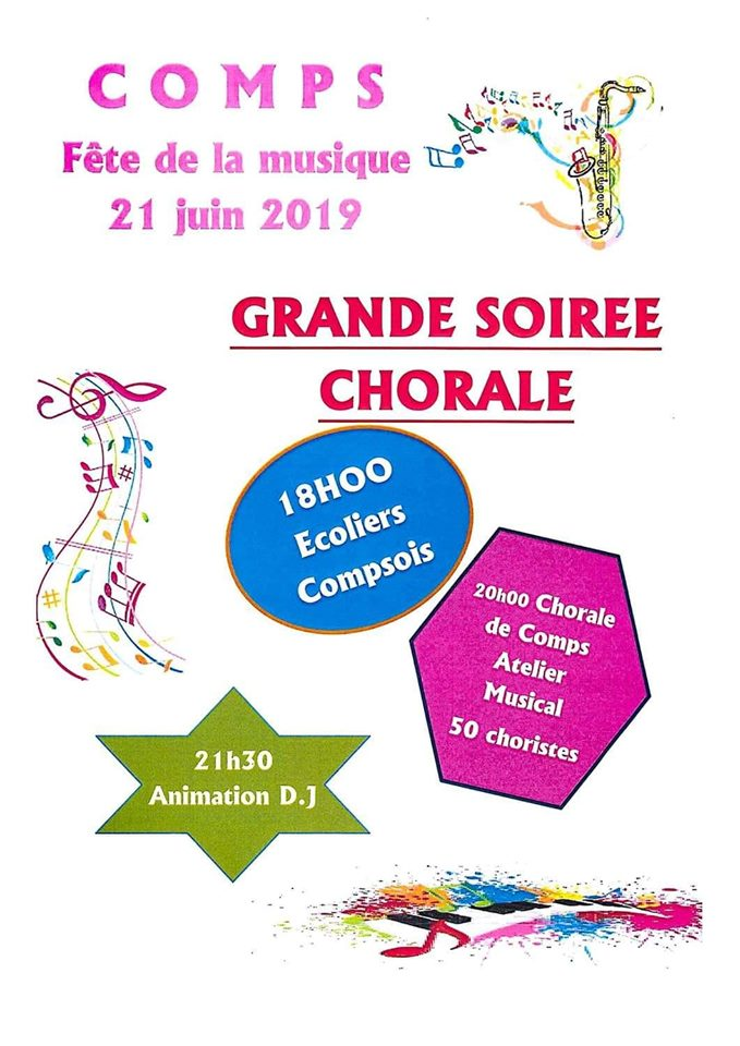 "Concert Atelier Chant ""les copains d'accords"""