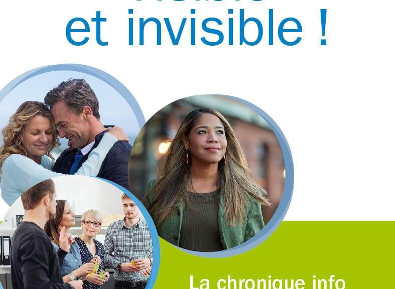 La Minute Info & Prévention : Visible et invisible ! La sclérose en plaques