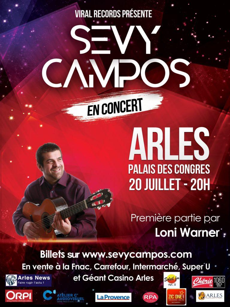 Sevy Campos en Concert