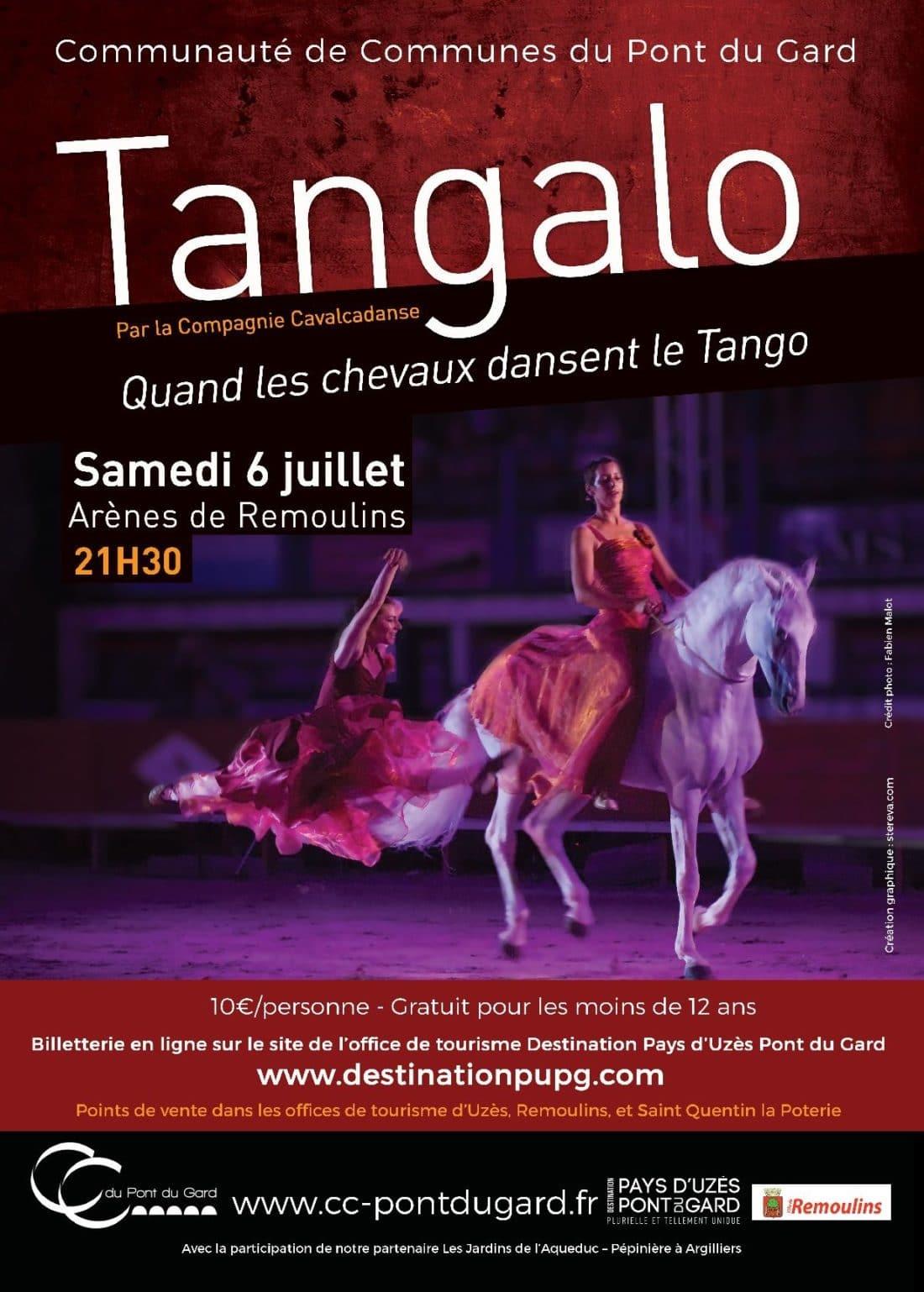 Tangalo, quand les chevaux dansent le tango