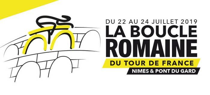 Le Tour de France au Pont du Gard