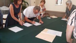signature de la charte d'engagement ©RADIO RG30
