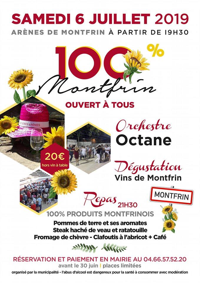 100% Montfrin 2019