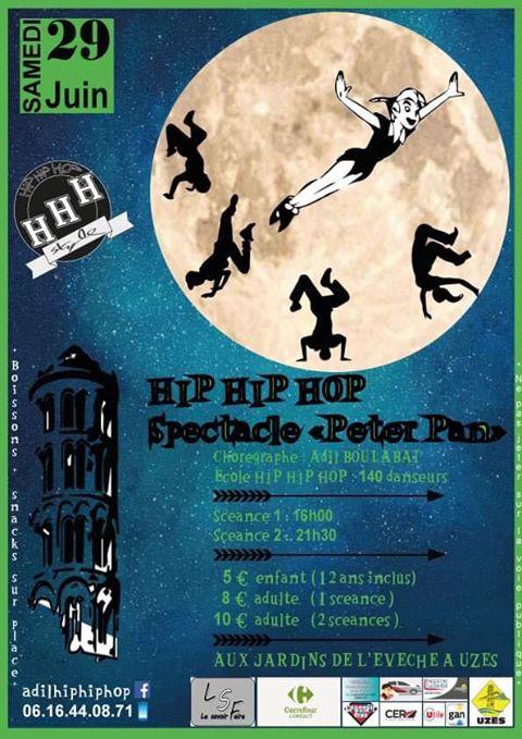 "Spectacle ""Peter Pan"" par Hip Hip Hop"
