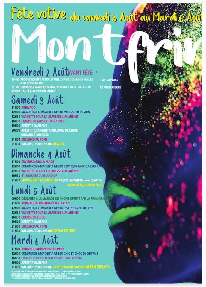 Fête votive 2019 Montfrin