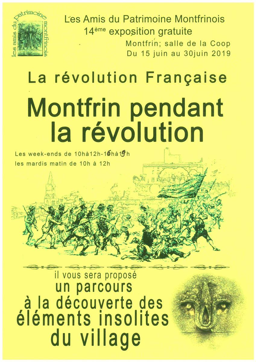 La Révolution de 1789, Montfrin et la Révolution.