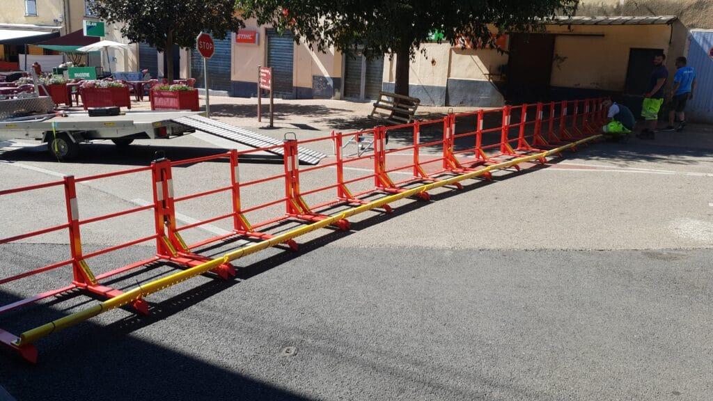 Nouvelles barrières de sécurité pour les festivités à Montfrin