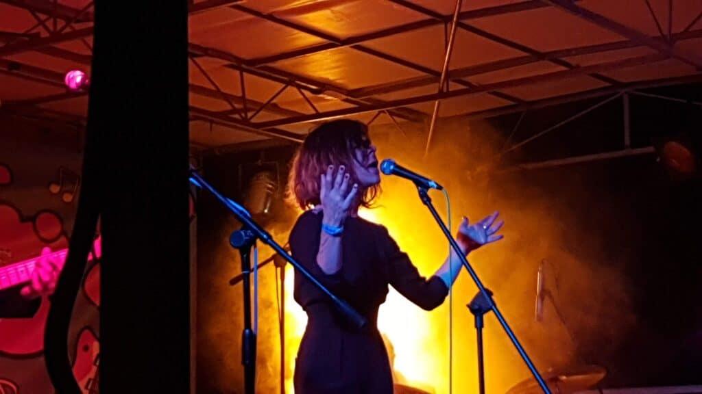 Clarika sur scène ©Radio RG30