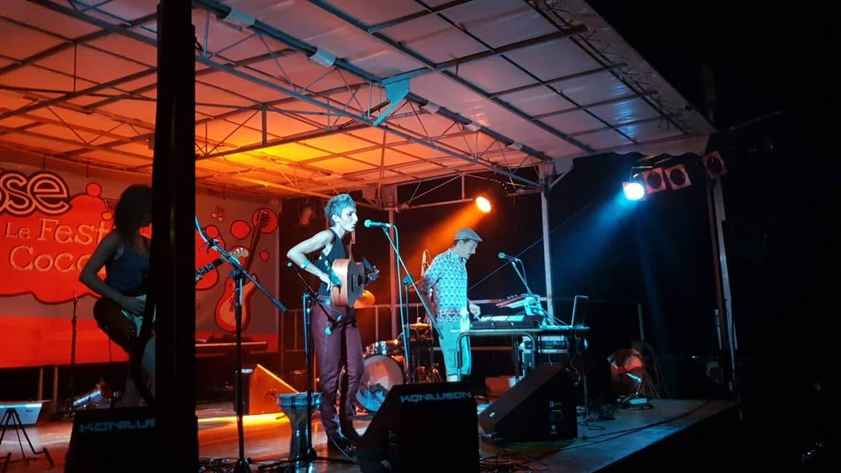 Dawta Jena sur scène ©Radio RG30