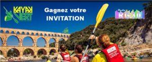 Gagnez votre invitation Kayak Vert