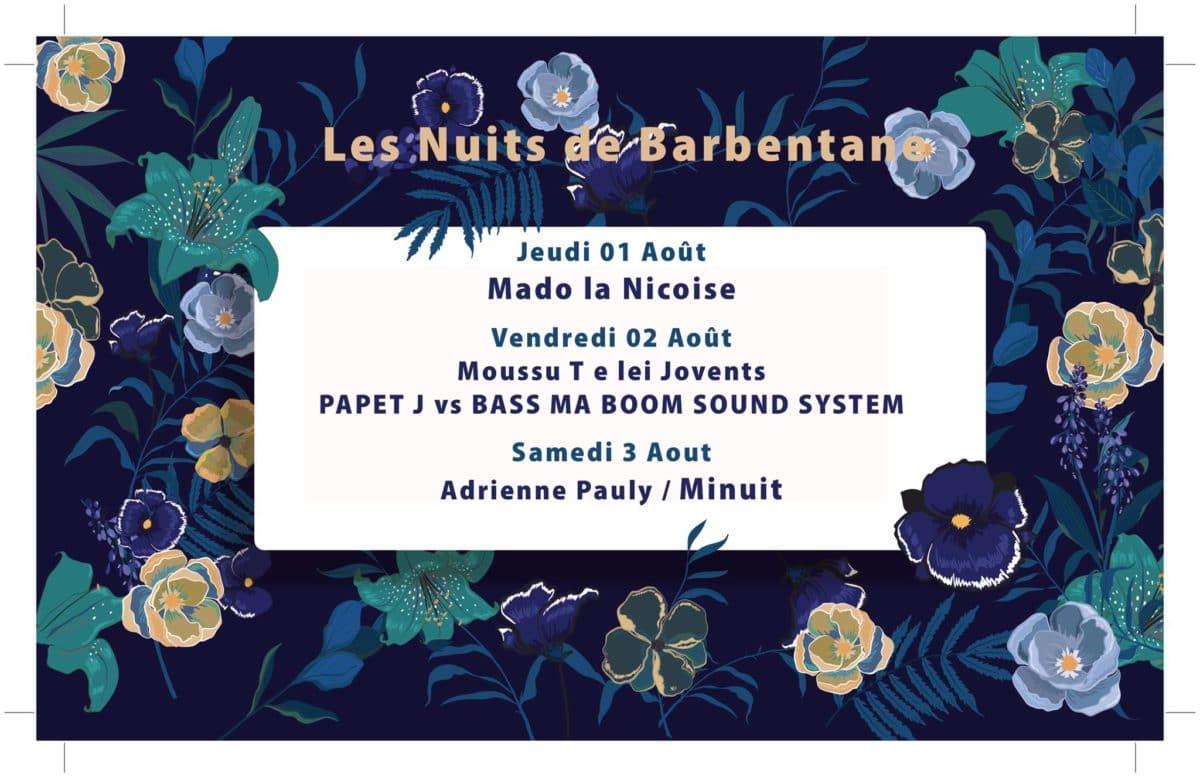 Les Nuits de Barbentane : Moussu T e lei Jovents & PAPET J vs BASS MA BOOM SOUND System