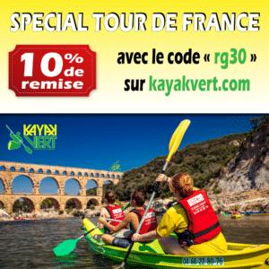 L'été sera frais ! 10% de réduction avec le code « rg30 » sur www.kayakvert.com