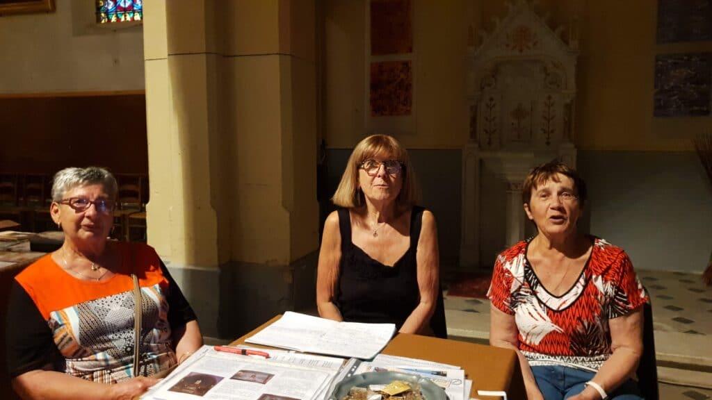 Bénévole à léglise St Christophe à Castillon du Gard