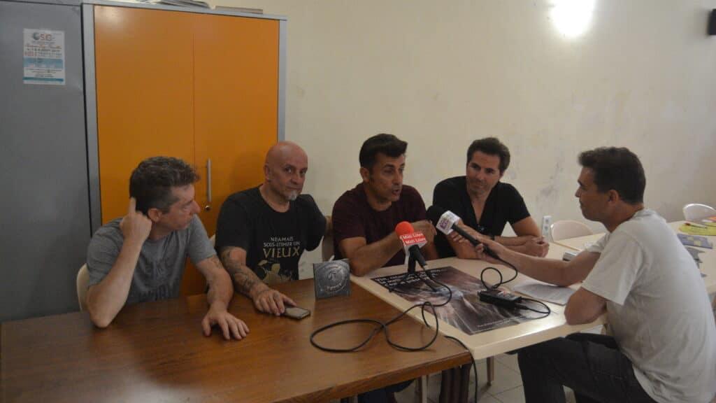Interview des Forbans à Montfrin