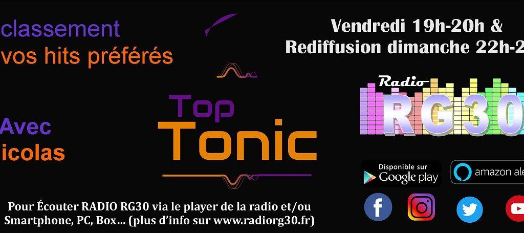 Top Tonic avec Nicolas 2019-2020