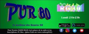 Pur 80 l'émission de Radio RG30 avec deux heures dans les années 80