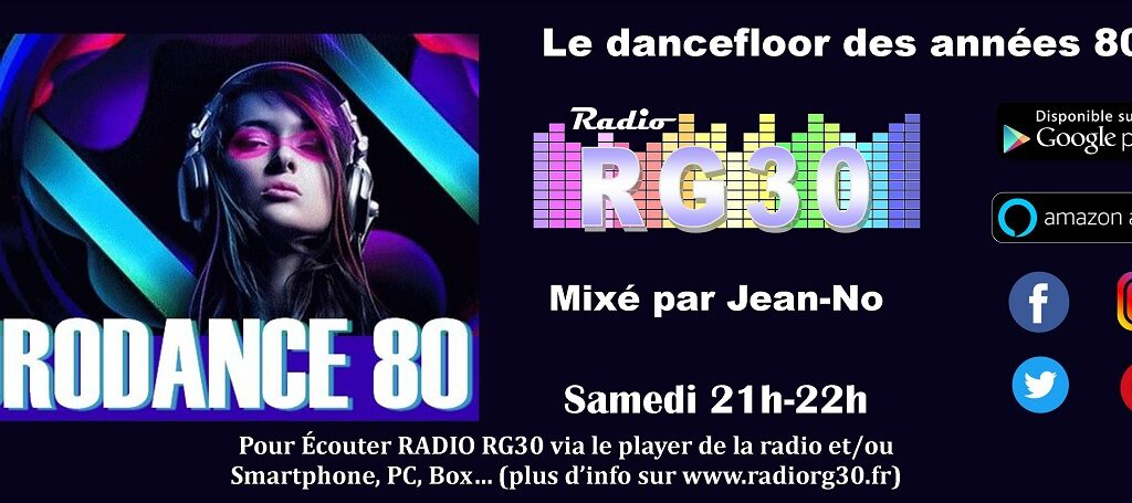 Eurodance 80 sur Radio RG30