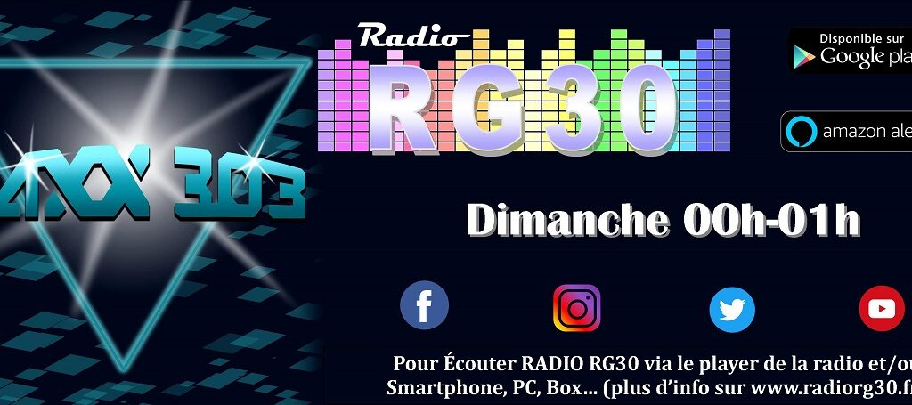 Haxx 303 by JCK sur Radio RG30