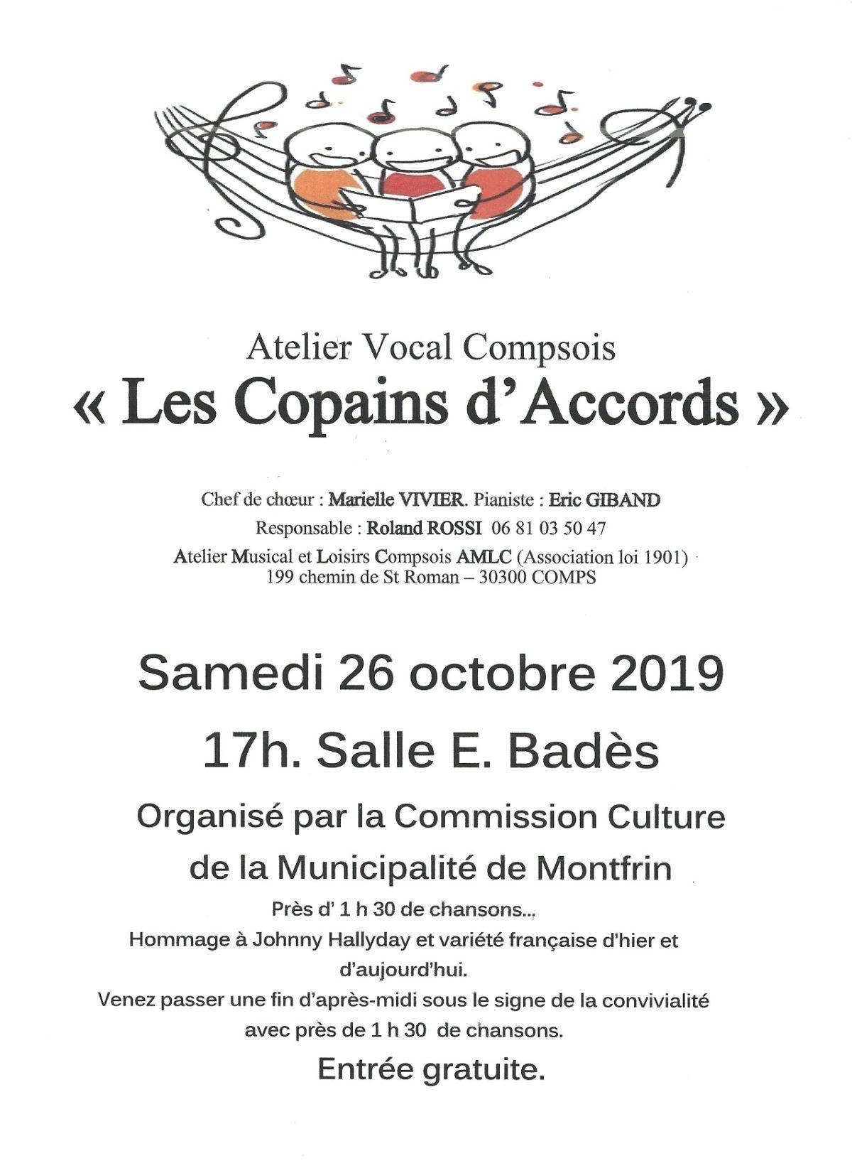 """Concert """"Les copains d'accords"""""""