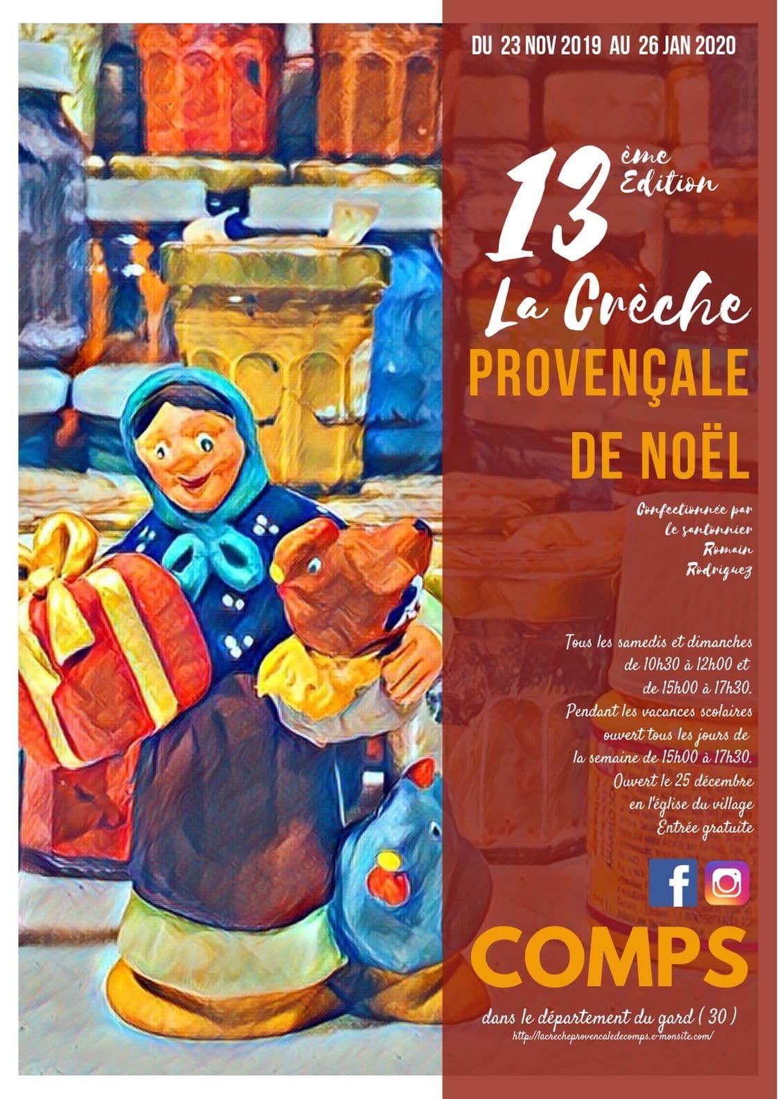 13ème édition de la crèche provençale