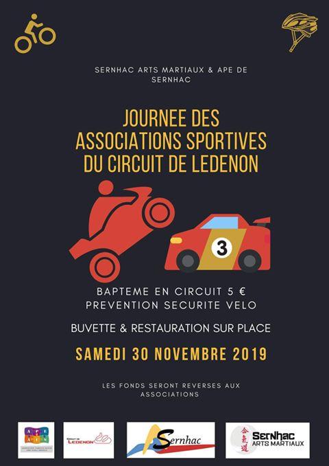 Journée des Associations sportives du Circuit de Lédenon Riverains Sernhac 2019