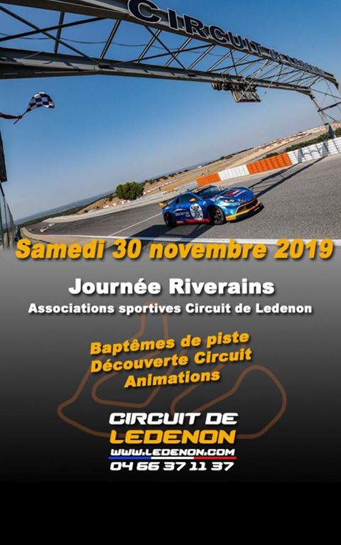 Journée des Associations sportives du Circuit de Lédenon & Riverains