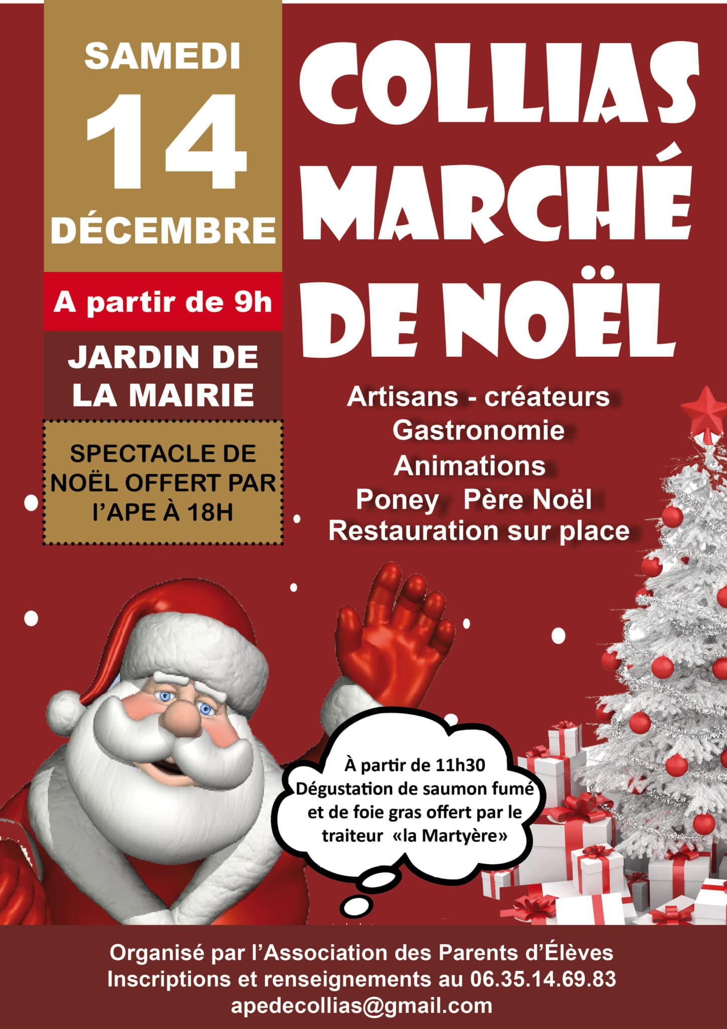 Marché de Noël 2019 de Collias