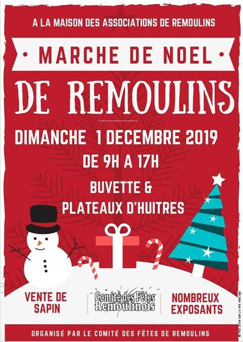 Marché de Noël 2019 à Remoulins