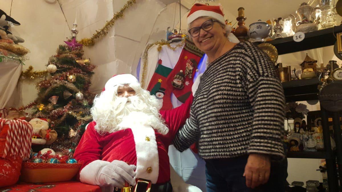 Le Père Noël de Montfrin Livres ©Radio RG30