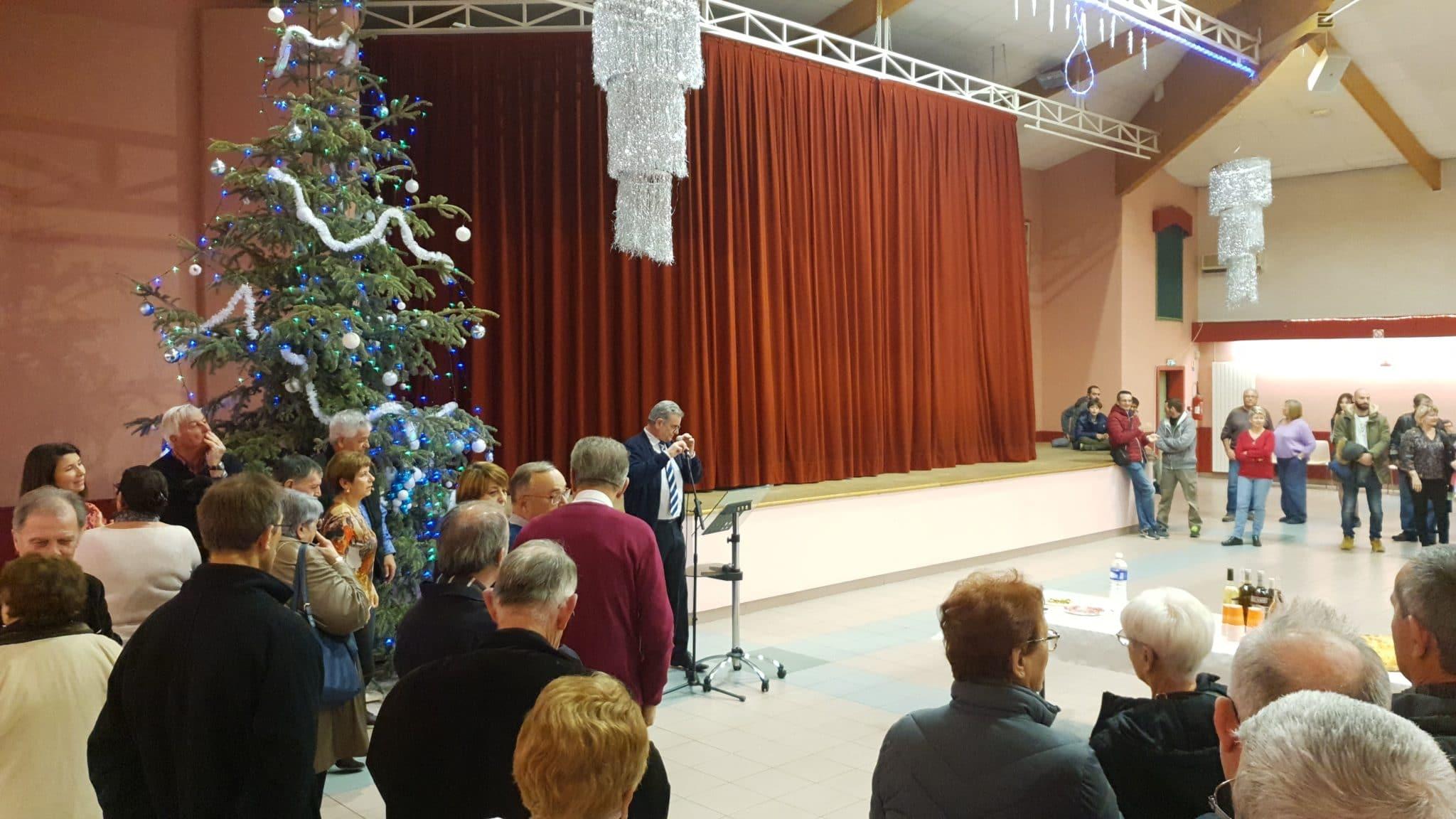 Cérémonie des Vœux du Maire à la salle Béjart de Montfrin