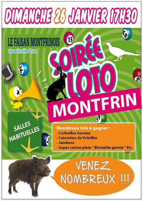 Loto Le Faisan Montfrinois 2020