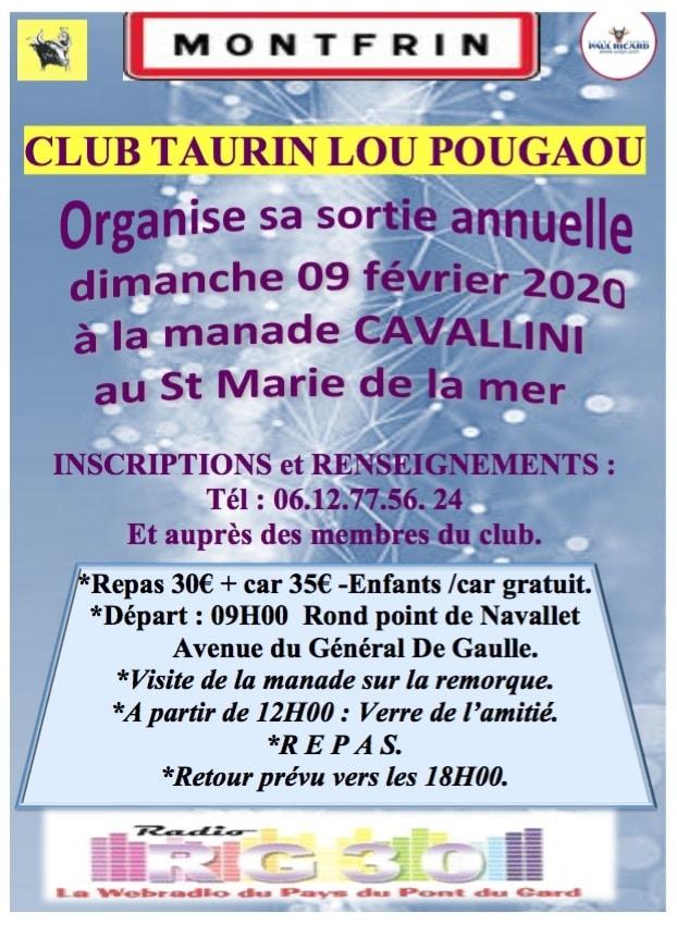 Manade Cavallini avec Lou Pougaou