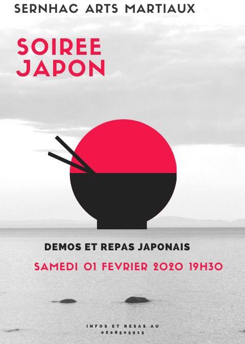Initiation, découverte, immersion et soirée Japon