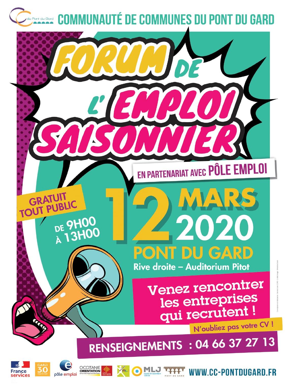Forum de l'emploi saisonnier 2020