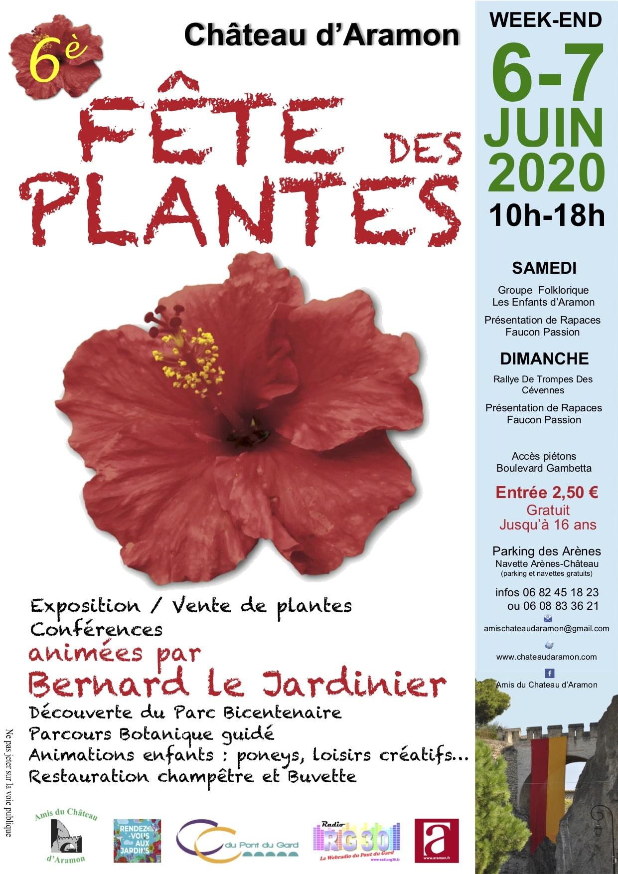 ANNULE - 6ème Fête des Plantes du Château d'Aramon