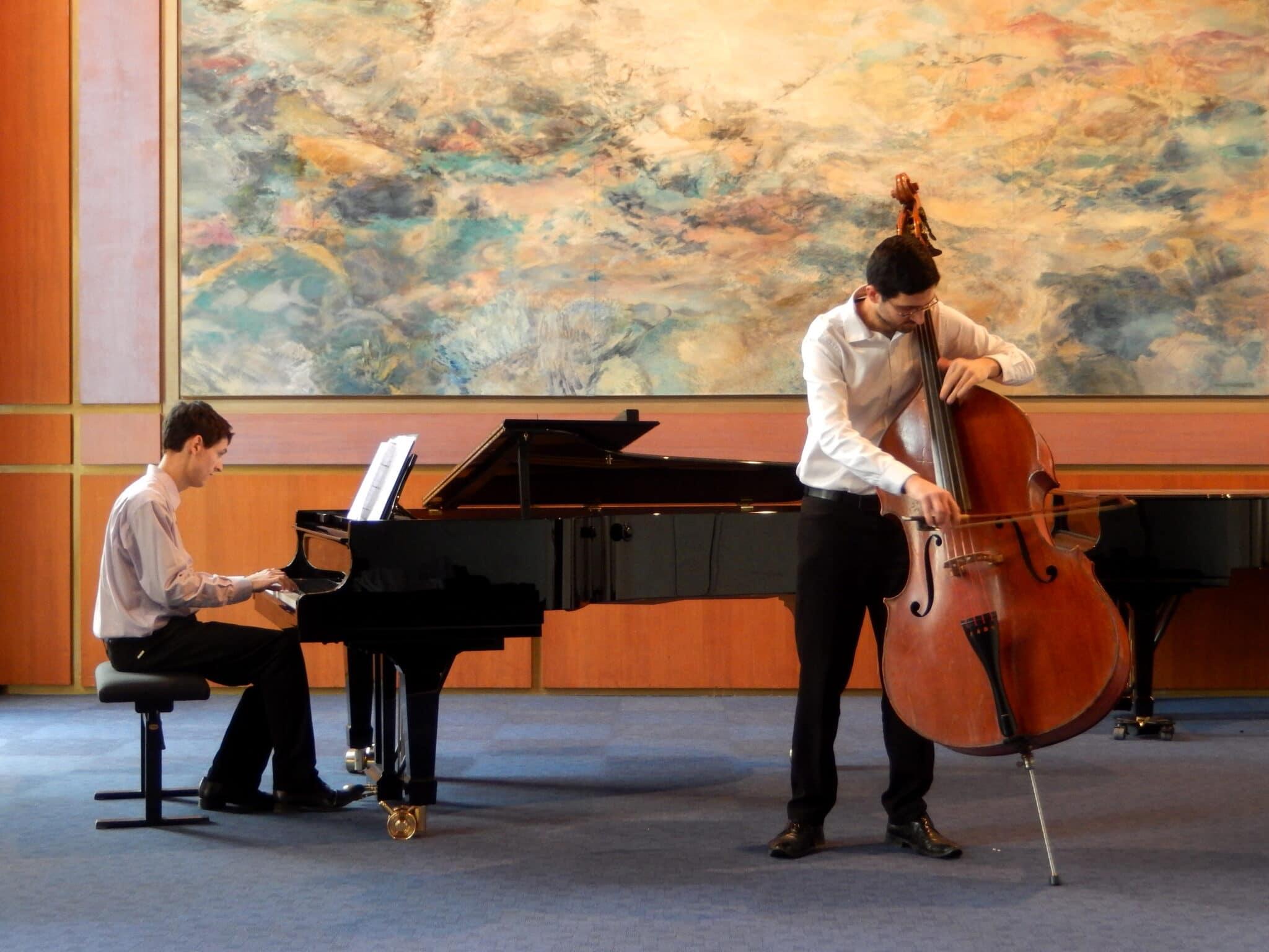 ANNULE - Un duo piano contrebasse
