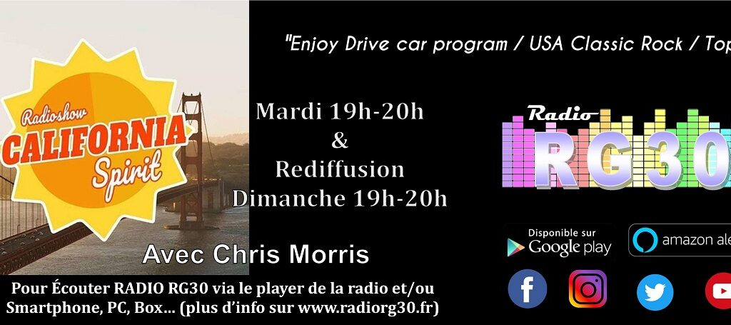 California Spirit avec Chris Morris du 13-04-2021
