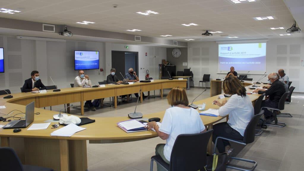 Les élus de Sud Rhône Environnement © Sud Rhône Environnement