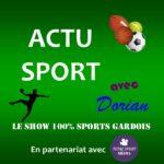 Actu Sport avec Dorian