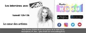 C'sab l'interview d'un artiste sur Radio RG30