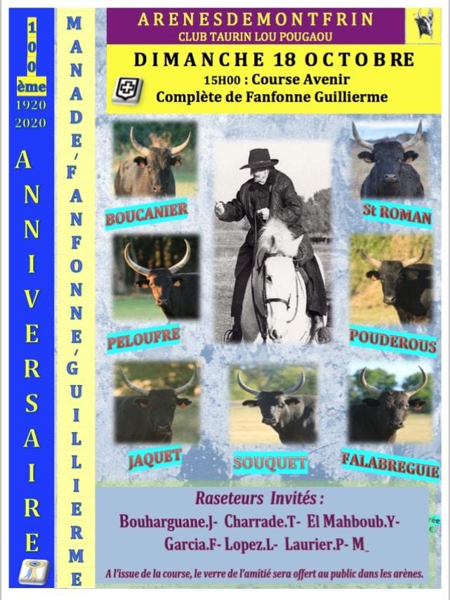 Course Avenir 100% anniversaire de la manade F/Guillierme