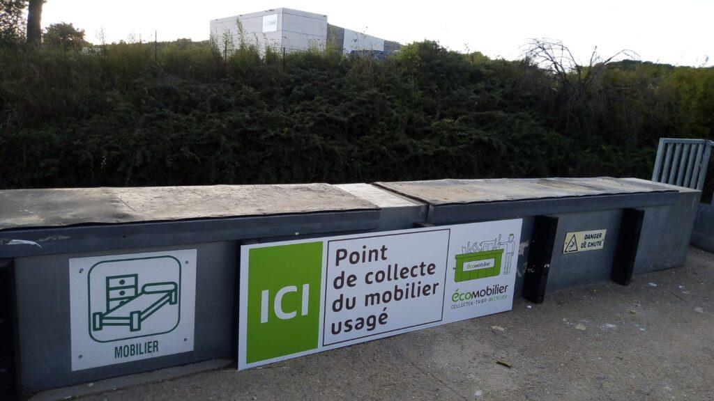 Signalétique Eco Mobilier ©SRE