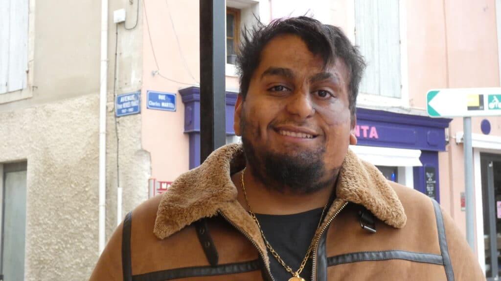 Salim, président de l'Espoir Montfrinois