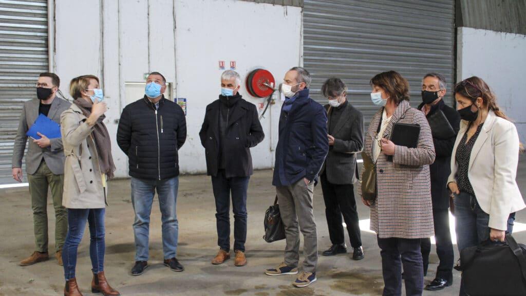 Visite d'Agnès LANGEVINE ©SRE
