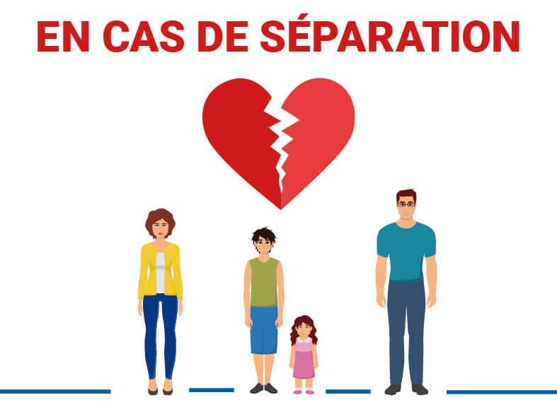 Logo SEPARATION CAF