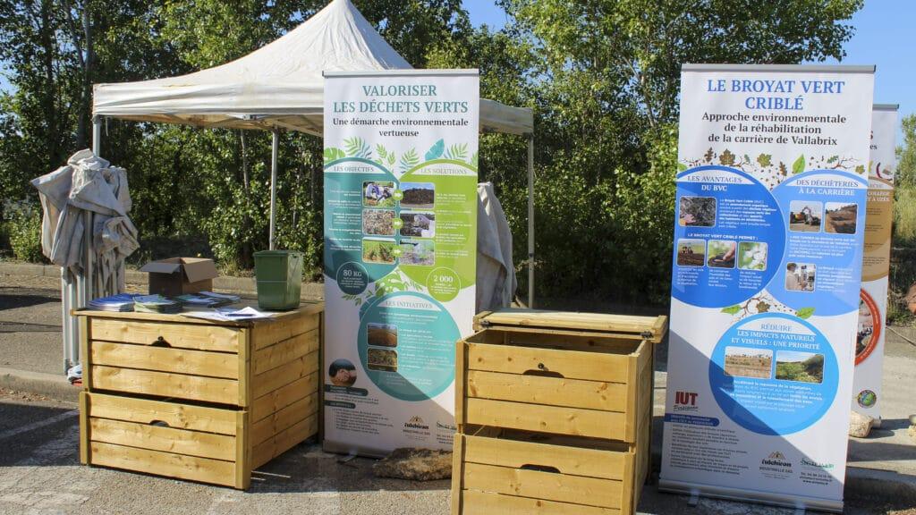 Distribution de Compost à Fournès