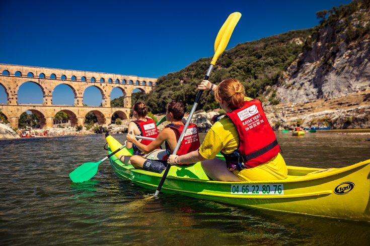 RG30 ET VOUS Descente des Gorges du Gardon en canoe kayak