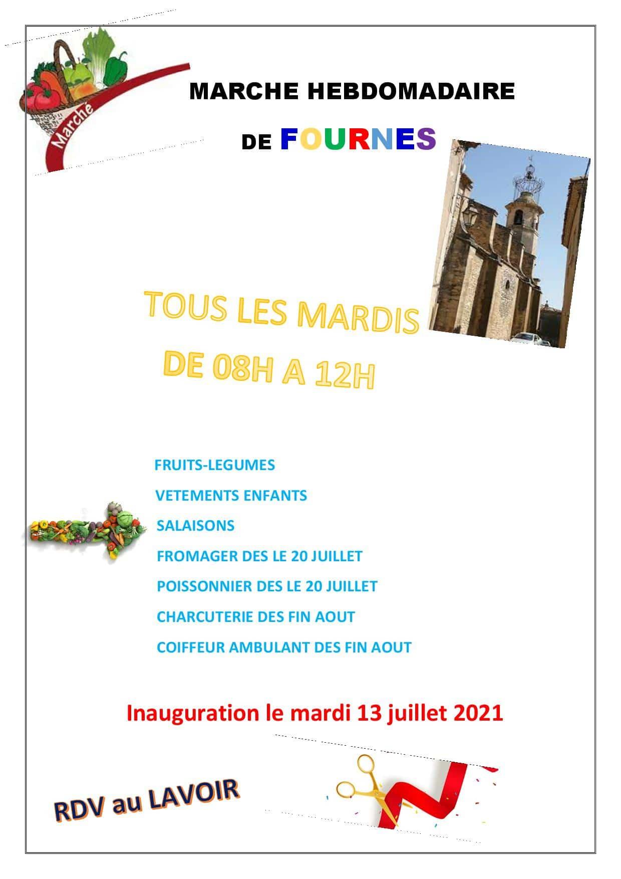 Marché Hebdomadaire de Fournès