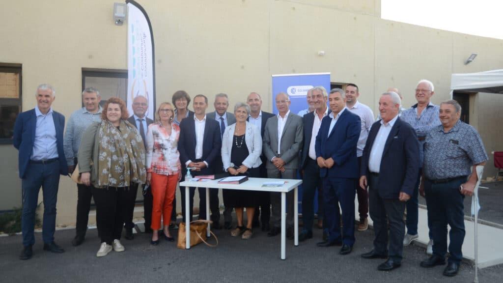 Inauguration de lespace entreprises et de son co working ©ccpg